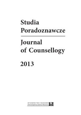 POL / ENG - Studia Poradoznawcze