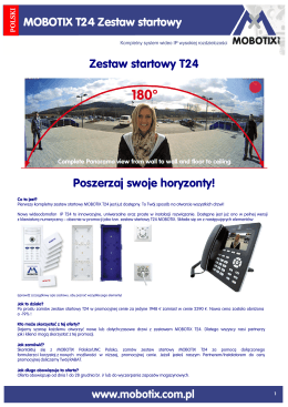 Zestaw startowy T24 Poszerzaj swoje horyzonty!