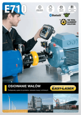 Easy-Laser E710 - Broszura PL