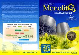 Monolit - Hodowla Roślin Strzelce