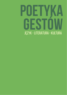 poetyka_gestow - Projektowanie Komunikacji