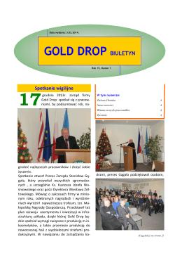 Nr 1 2014 - Gold Drop
