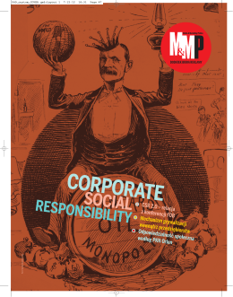 Corporate, Social, Responsibility