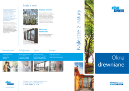 Katalog okien i drzwi NATURO - Eko-Okna