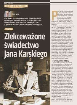 Pobierz jako PDF - Jan Karski. Niedokończona misja