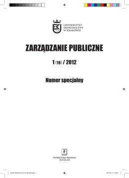 Zarzdzanie Publiczne_1_2012.indd - MSAP