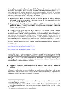 Komunikat Urzędu Ochrony Konkurencji i Konsumentów odnośnie