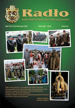 Rok V Nr 4 (21) Wrzesień 2011 ISSN 1897 – 8339