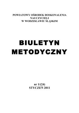 Biuletyn Metodyczny styczeń 2011