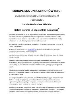Newsletter EUS No 98-PL