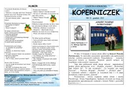 KOPERNICZEK - Aktualności SP nr 4 w Kutnie