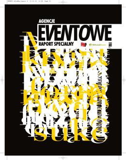 Raport Specjalny Agencje Eventowe 2014