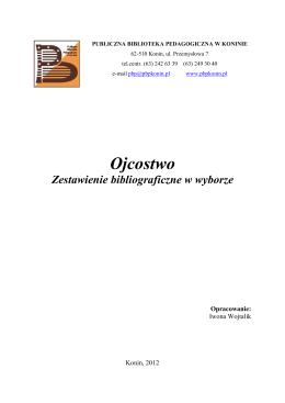 Ojcostwo - Publiczna Biblioteka Pedagogiczna w Koninie
