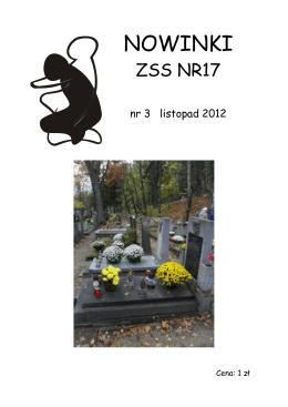 Nowinki nr 3 - listopad 2012