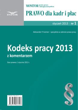 Kodeks pracy 2013