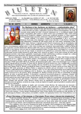 01.12.2013-13 - Polska Parafia w Leeds