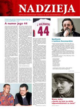 Raptularz 2012 - Fundacja im. Jacka Kaczmarskiego