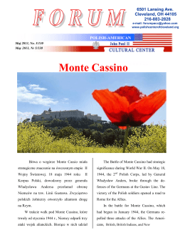 Monte Cassino - Polish-American Cultural Center