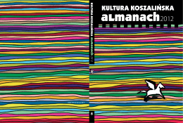 Kultura koszalińska : almanach 2012