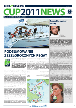 Regaty morskie - Sun Yacht Charter