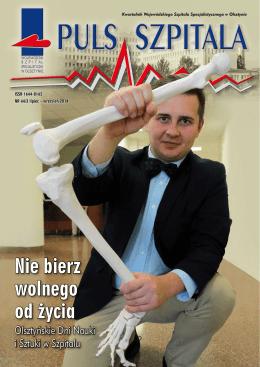Nie bierz wolnego od życia - Wojewódzki Szpital Specjalistyczny w