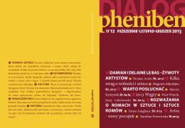 Dialog-Pheniben nr 12