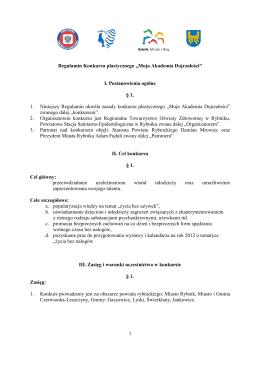 Pobierz plik PDF - Regionalne towarzystwo oświaty zdrowotnej
