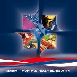 SERBIA – TWOIM PARTNEREM BIZNESOWYM