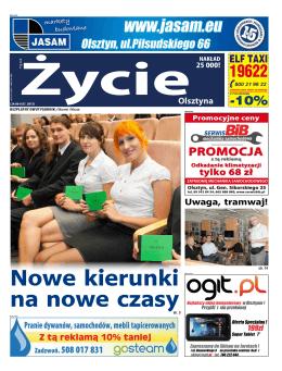 Życie Olsztyna 27 - Nowe Życie Olsztyna
