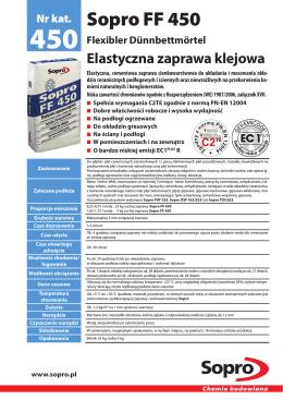 Sopro FF 450 - Sopro Bauchemie GmbH