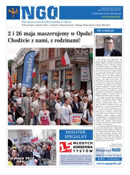 NGO Wydanie Specjalne Nr. 5 - Niezależna Gazeta Obywatelska w
