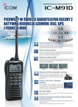 pierwszy w świecie radiotelefon ręczny z aktywną redukcją szumów