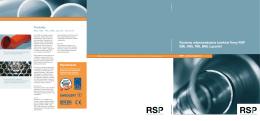 Systemy odprowadzania ścieków firmy RSP SML KML TML