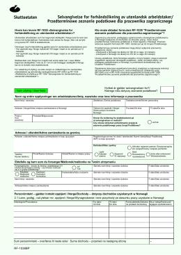 Przedterminowe zeznanie podatkowe dla pracownika