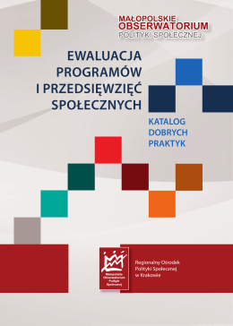 ewaluacja programów i przedsięwzięć społecznych katalog dobrych
