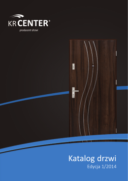 Katalog drzwi PDF