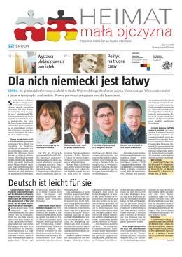 Dla nich niemiecki jest łatwy - www.bilingua.haus.pl www.bilingua