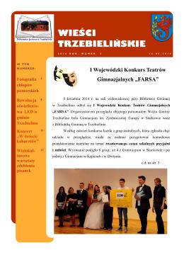 Wieści Trzebielińskie Numer 3 - Biblioteka Gminna w Trzebielinie