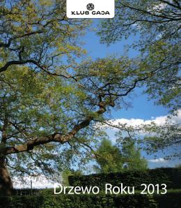 Więcej informacji w publikacji Drzewo Roku 2013