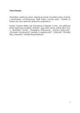 Biogramy i konspekty uczestniczek i uczestników