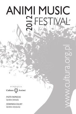 ANIMI MUSIC - Fundacja Cultura Animi