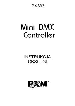 PX333 instrukcja obsługi, wersja