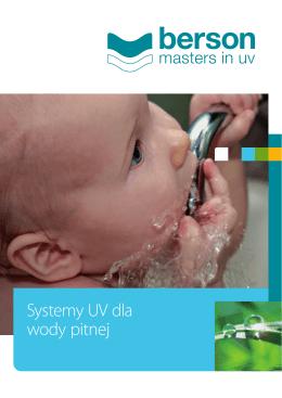 Systemy UV dla wody pitnej