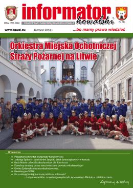 Orkiestra Miejska Ochotniczej Straży Pożarnej na Litwie