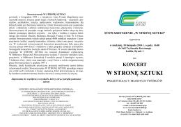 """Zaproszenie - """"Pod Akacją"""" w Lublinie"""