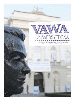 Vawa Uniwersytecka - Pismo Studenckie PDF