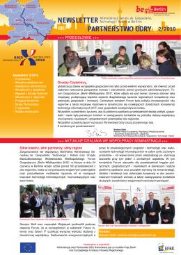 2/2010 Newsletter Partnerstwo odry - Oder