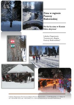 Zima w regionie Puszczy Białowieskiej