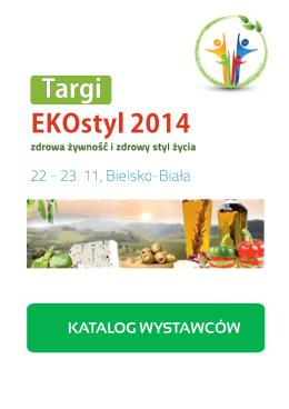 Katalog wystawców EKOstyl 2014 pdf