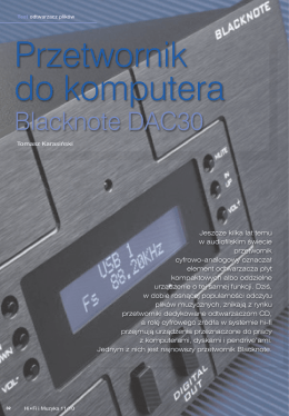 Blacknote USB DAC30 Tube 1,7 Mb